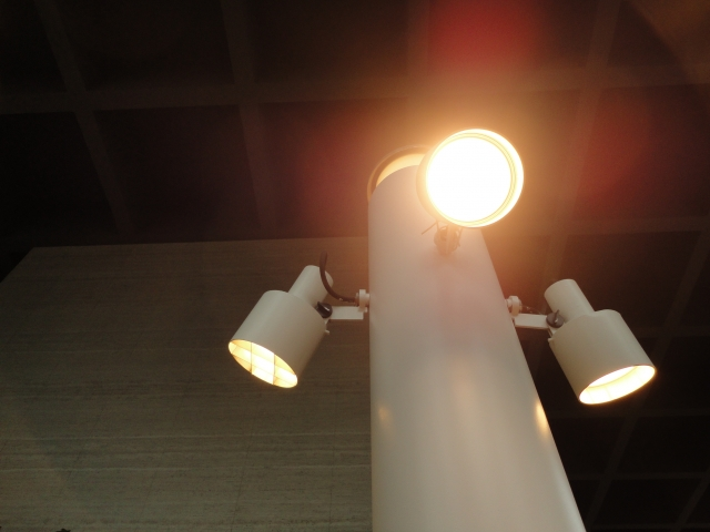 寝る直前の照明
