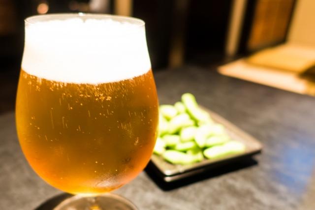 ビールと睡眠薬
